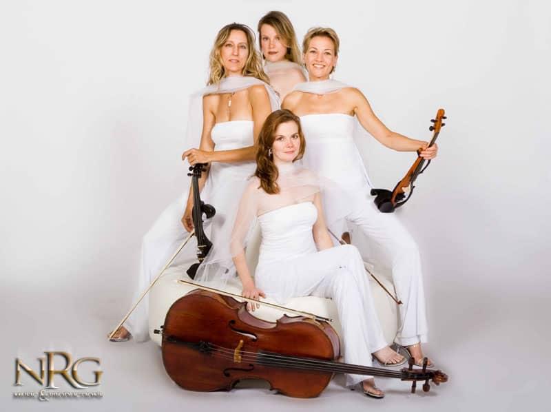 Photo of NRG String Quartet