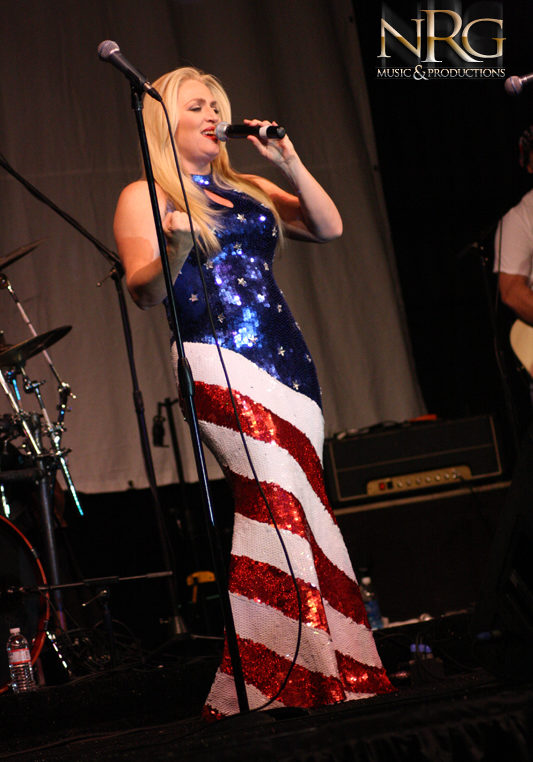 Photo of NRG Music and Productions USO Show Singer